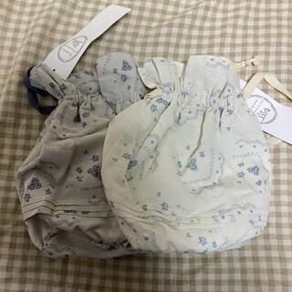 サマンサモスモス(SM2)のサマンサモスモス グルニエ 新品 フラワーレースプリント巾着セット(その他)