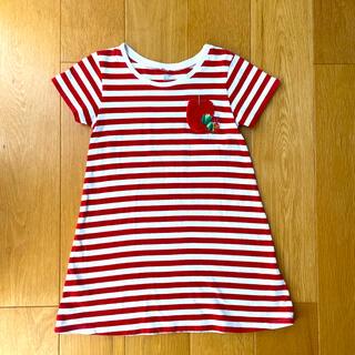 Design Tshirts Store graniph - グラニフ はらぺこあおむし ワンピース 110