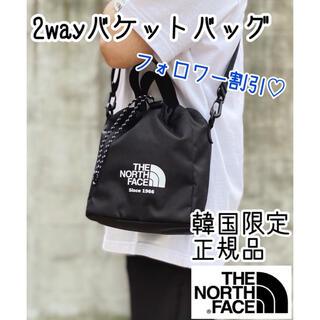ザノースフェイス(THE NORTH FACE)の新品/WL BUCKET BAG MINI/韓国ノースフェイス/数量限定☆(ショルダーバッグ)