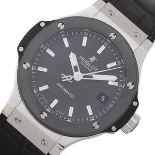ウブロ(HUBLOT)のウブロ HUBLOT ビックバン 腕時計 【中古】(レザーベルト)