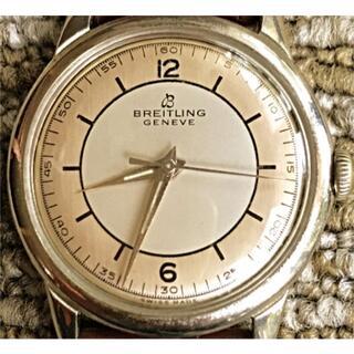 BREITLING - 美品ブライトリング/1950/シルバーダイヤル/アンティーク/メンズ腕時計/
