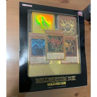 ユウギオウ(遊戯王)の遊戯王 MILLENNIUM BOX GOLD EDITION 未開封☆(Box/デッキ/パック)