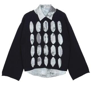 Ameri VINTAGE - AmeriVINTAGE 完売品 2wayシャツセットニットトップス