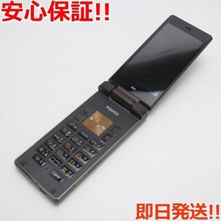アクオス(AQUOS)の美品 au SHF31 AQUOS K ブラック (携帯電話本体)