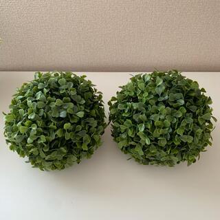 IKEA - IKEA フェイカ アートプラント ボール型(2個セット)