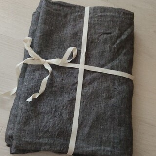 ムジルシリョウヒン(MUJI (無印良品))の無印良品:麻/リネン100%フラットシーツ(シーツ/カバー)