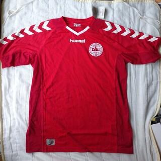 ヒュンメル(hummel)のデンマークユニフォーム サッカー 未使用(ウェア)