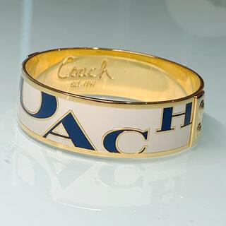 コーチ(COACH)の極美品☆ コーチ ロゴ バングル 腕輪(ブレスレット/バングル)