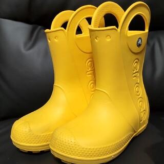 クロックス(crocs)のクロックス ハンドル イット レインブーツ キッズ c13 19cm(長靴/レインシューズ)