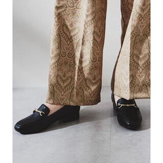 オリエンタルトラフィック(ORiental TRaffic)の*新品未使用*ビットモチーフスクエアトゥローファー(ローファー/革靴)
