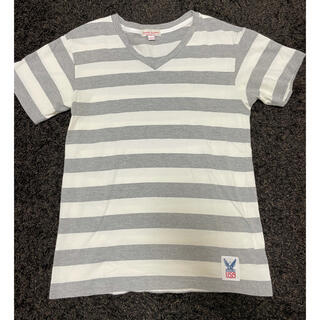 スタンダードカリフォルニア(STANDARD CALIFORNIA)のスタンダードカリフォルニア Tシャツ Mサイズ アメリカ製 Vネック(Tシャツ/カットソー(半袖/袖なし))