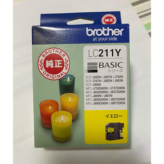 brother - brother LC211Y 純正カートリッジ ブラザー イエロー