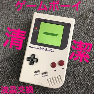 ゲームボーイ(ゲームボーイ)の初代 ゲームボーイ DMG カスタム バックライト ips液晶 gameboy(携帯用ゲーム機本体)