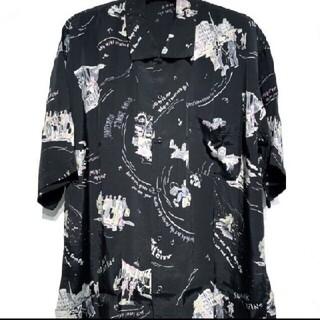 ワンエルディーケーセレクト(1LDK SELECT)のポータークラシックアロハシャツ スケートボーディング ブラックS(シャツ)