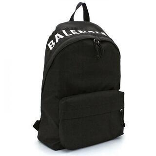 バレンシアガ(Balenciaga)のバレンシアガ ウィール バックパック ブラック(バッグパック/リュック)