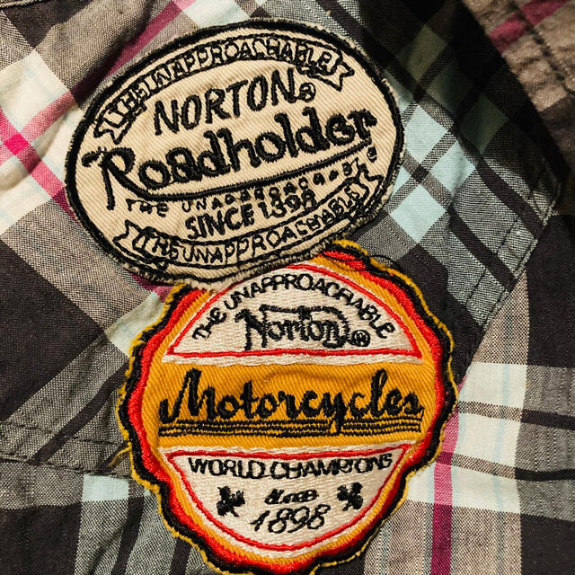 Norton(ノートン)のノートン シャツ 半袖 メンズのトップス(シャツ)の商品写真