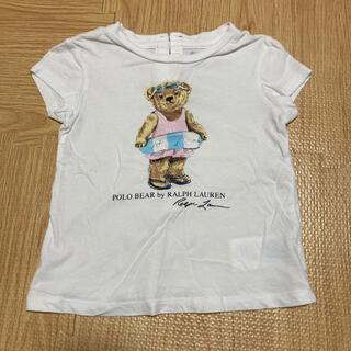 ポロラルフローレン(POLO RALPH LAUREN)の【お買い得】ラルフローレン ベビーTシャツ 80センチ(Tシャツ)