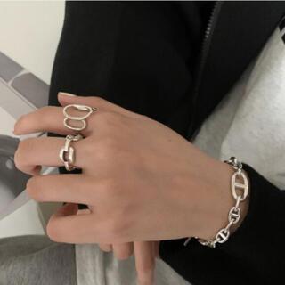 トゥデイフル(TODAYFUL)の149◇ デザイン シルバー リング 2点set silver925(リング(指輪))