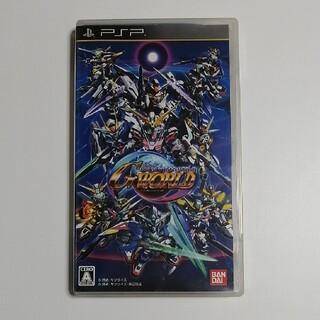 プレイステーションポータブル(PlayStation Portable)のSDガンダム ジージェネレーション ワールド PSP (ケース欠損あり)(その他)