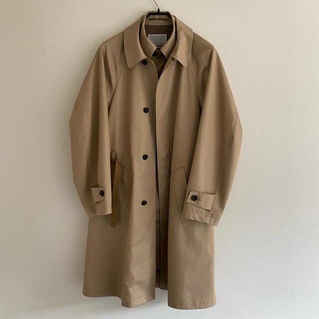 kolor(カラー)のkolor 20ss レイヤードコート サイズ320SCM-C0313 ベージュ メンズのジャケット/アウター(ステンカラーコート)の商品写真