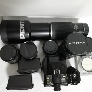 PENTAX - PENTAX ペンタックス 645 レンズ5本テレコン、フィルター
