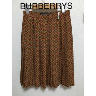 バーバリー(BURBERRY)のBURBERRYS ボヘミアン/エスニック調 ティアードスカート(ひざ丈スカート)