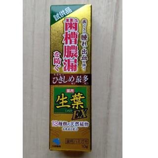 小林製薬 - 生葉EX 歯槽膿漏を防ぐ 薬用ハミガキ(試供品)