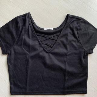 リゼクシー(RESEXXY)のRESEXXYクロップド丈トップス(Tシャツ(半袖/袖なし))