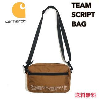 carhartt - 新品 カーハート チームスクリプト ショルダーバッグ ブラウン