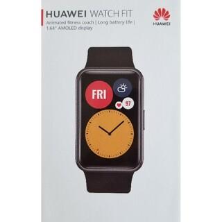 ファーウェイ(HUAWEI)のスマートウォッチ Huawei watch fit(その他)