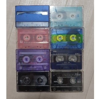マクセル(maxell)のカセットテープ ハイポジ 8本セット(その他)