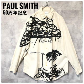 Paul Smith - 極美品⭐️Paul Smith 50周年記念 スパゲッティ アート 長袖シャツ
