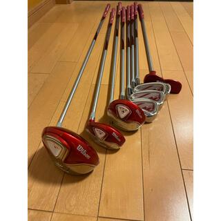 Wilson Staff - ゴルフクラブ 初心者セ8本セット