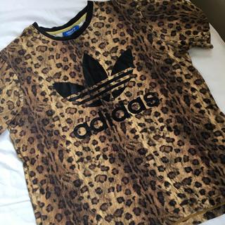 アディダス(adidas)のアディダス adidas オリジナルス レオパード豹柄 Tシャツ L(Tシャツ/カットソー(半袖/袖なし))