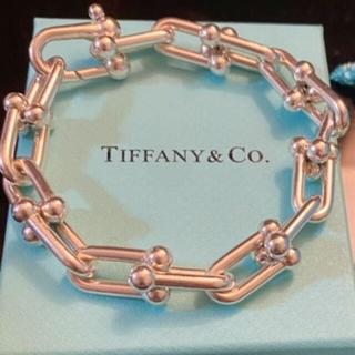Tiffany & Co. - ☆美品☆Tiffany ティファニー ハードウェア リンク ブレスレット