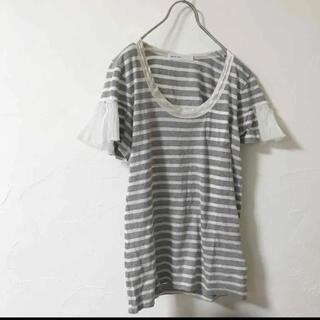 サカイラック(sacai luck)のsacai luck♡ボーダーTシャツ(Tシャツ(半袖/袖なし))