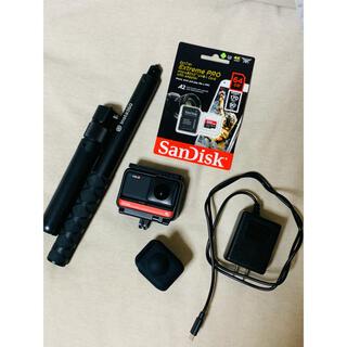 ゴープロ(GoPro)のInsta360 ONE R 360度版 メモリーカード、バレットタイムセット(コンパクトデジタルカメラ)