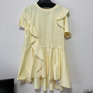 フレイアイディー(FRAY I.D)のセルフォード 今季 フリルTシャツ 試着のみ(Tシャツ(半袖/袖なし))