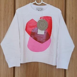 ステラマッカートニー(Stella McCartney)の新品 ステラマッカートニー ハート トレーナー 5Y(Tシャツ/カットソー)