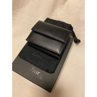 ディオール(Dior)のDIOR ディオール コンパクトウォレット(折り財布)
