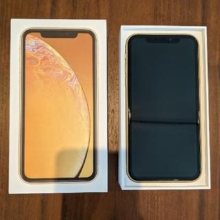 アップル(Apple)のiPhone XR 64GB イエロー(スマートフォン本体)