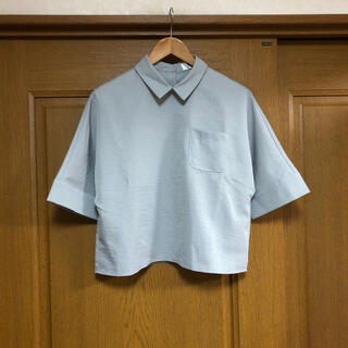 ゴゴシング(GOGOSING)の韓国 ゴゴシング グレー オーバーサイズ シャツ(シャツ/ブラウス(半袖/袖なし))
