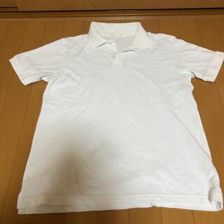 ジーユー(GU)のGU白ポロシャツ半袖(ポロシャツ)