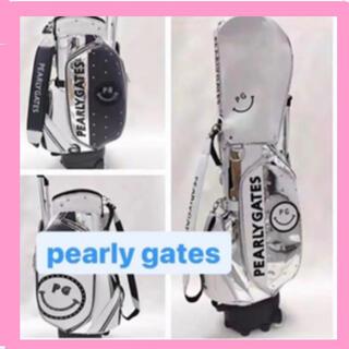 パーリーゲイツ(PEARLY GATES)の韓国 パーリーゲイツ スマイルキャディバッグ キャディバッグ ゴルフ 正規品(バッグ)