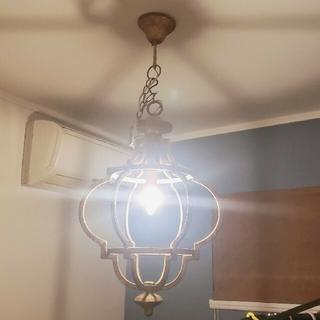 アクタス(ACTUS)のアンティーク ヴィンテージ シャンデリア ペンダントライト ランプ(天井照明)