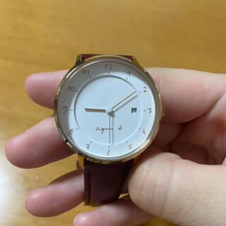 agnes b. - アニエスべー 時計 レッド