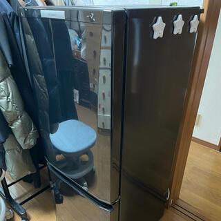ミツビシ(三菱)の三菱ノンフロン冷凍冷蔵庫 146L(冷蔵庫)