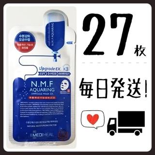 【27枚】メディヒール mediheal N.M.F NMF アクアリング(パック/フェイスマスク)