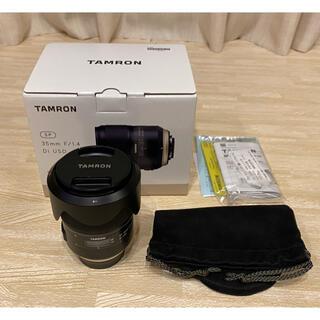 タムロン(TAMRON)の【dk様専用】TAMRON SP 35mm F/1.4 Di USD 【美品】(レンズ(単焦点))