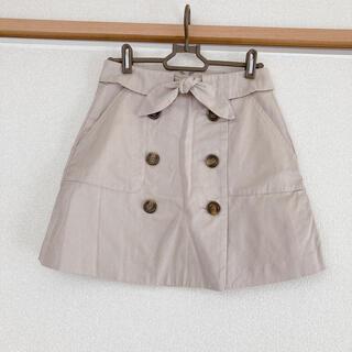 ダズリン(dazzlin)のダズリン トレンチ風スカート(ミニスカート)